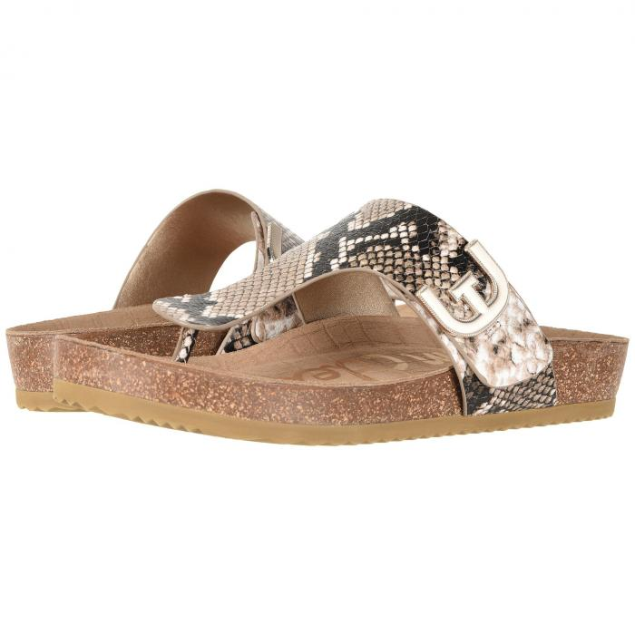 SAM EDELMAN レディース 【 Olga 】 Natural Royal Snake Print Leather