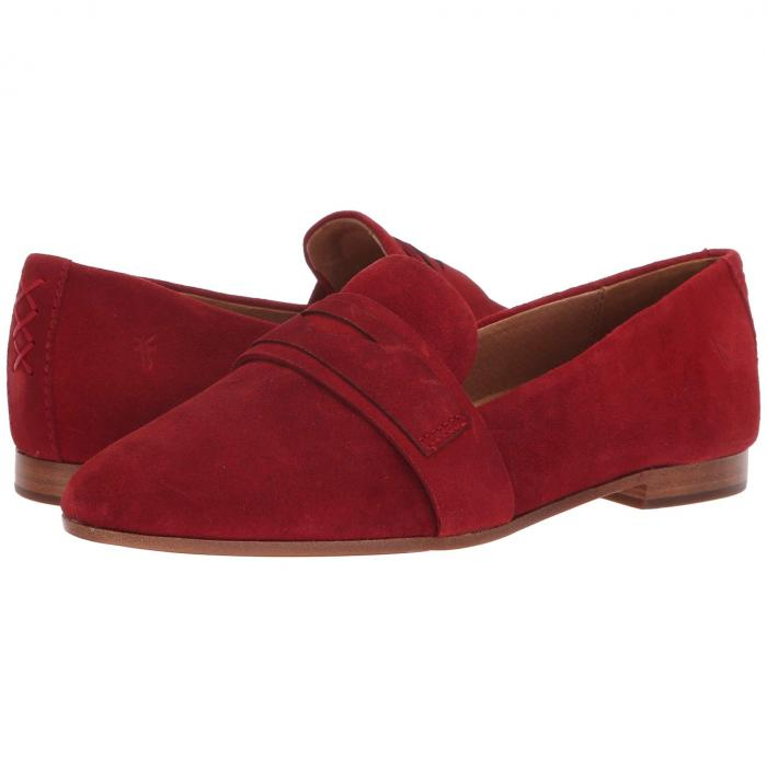 FRYE ペニー レディース 【 Terri Penny Loafer 】 Red Suede