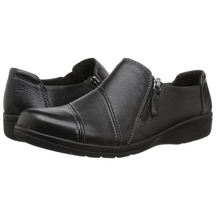 クラークス CLARKS レディース 【 Cheyn Clay 】 Black Leather
