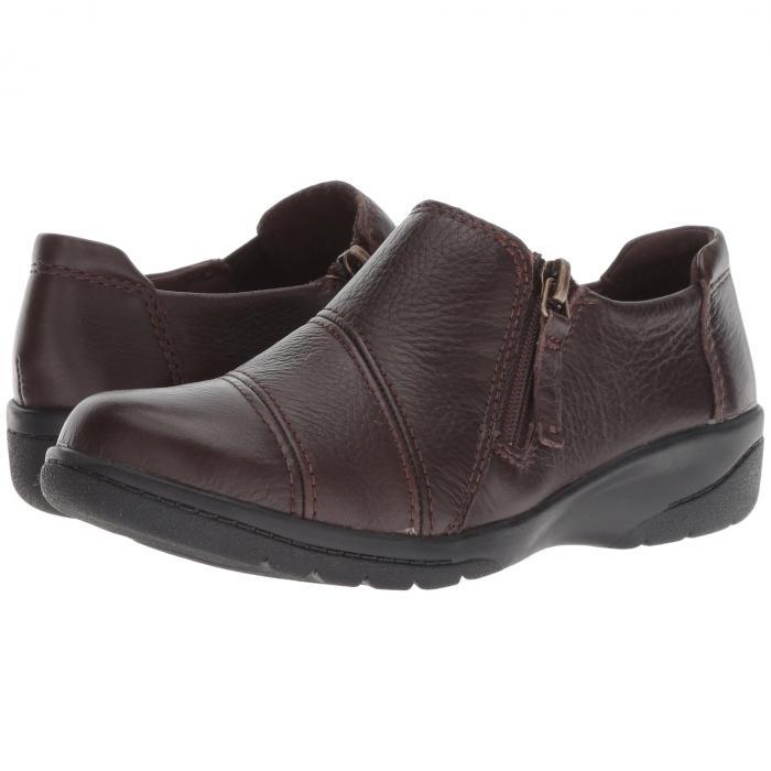 クラークス CLARKS レディース 【 Cheyn Clay 】 Brown Leather