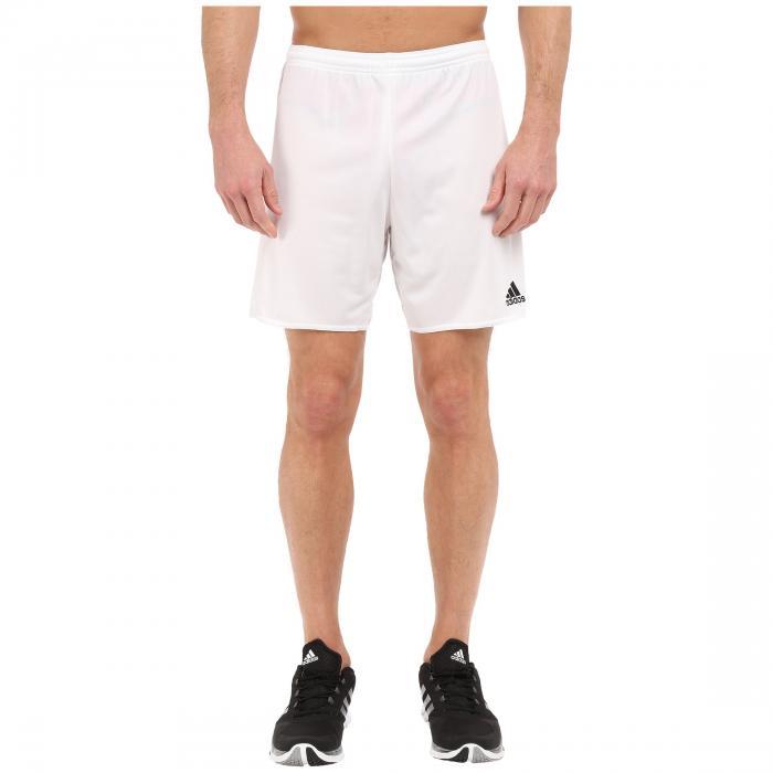 アディダス ADIDAS ショーツ ハーフパンツ 白 ホワイト 黒 ブラック 【 WHITE BLACK ADIDAS PARMA 16 SHORTS 】 メンズファッション ズボン パンツ