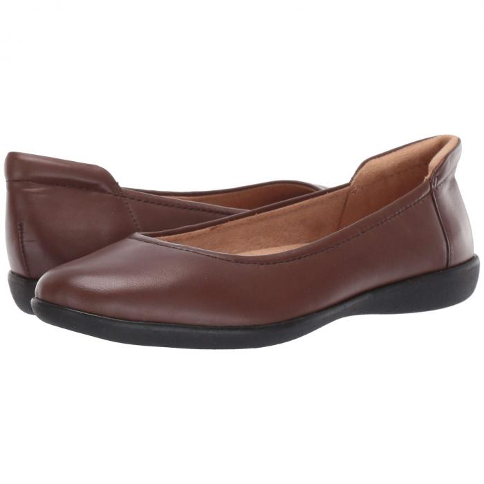 NATURALIZER 茶 ブラウン レザー 【 BROWN NATURALIZER FLEXY LEATHER 】