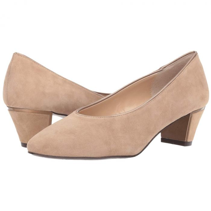 J. RENEE スエード スウェード パテント J. 【 RENEE CLARION TAUPE SUEDE PATENT 】