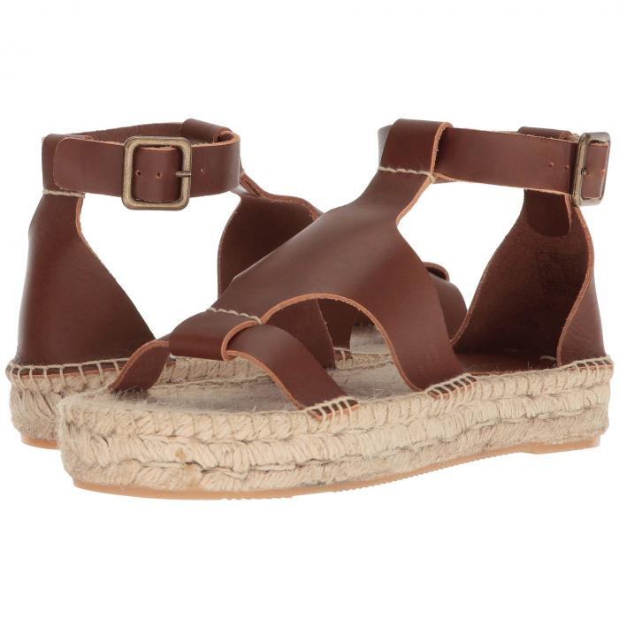 SOLUDOS レディース 【 Banded Shield Sandal 】 Walnut