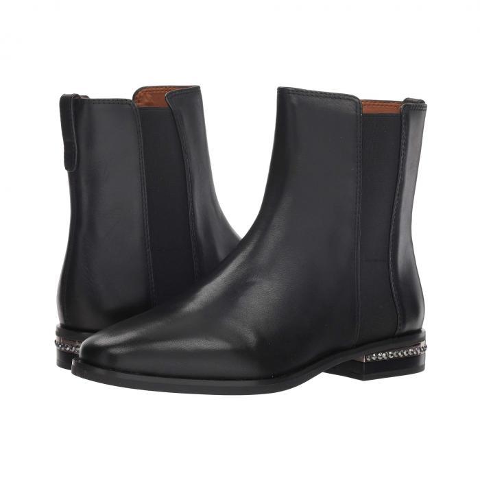FRANCO SARTO レディース 【 Racine 】 Black Premier Calf Leather