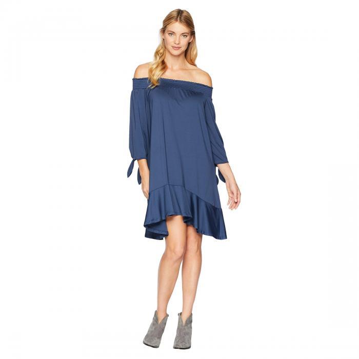 ROPER 青 ブルー 【 BLUE ROPER 1770 POLYESTER SPANDEX 】 レディースファッション ドレス