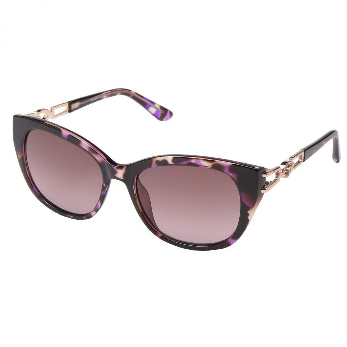 GUESS 紫 バイオレット 【 GUESS GU7562 VIOLET OTHER GRADIENT OR MIRROR 】 バッグ  眼鏡
