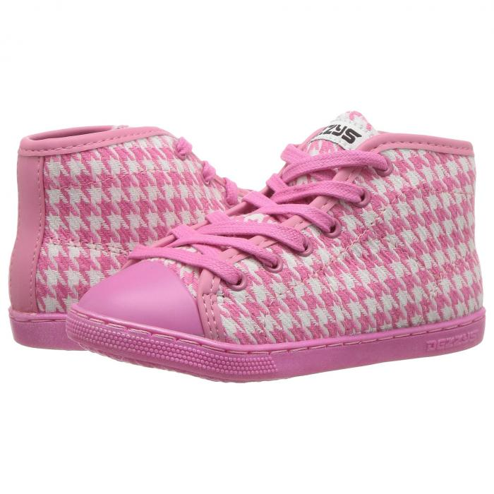 DEZZYS ピンク 【 PINK DEZZYS MARLEY HI2 TODDLER LITTLE KID BIG HOUNDSTOOTH 】 キッズ ベビー マタニティ ベビー服 ファッション