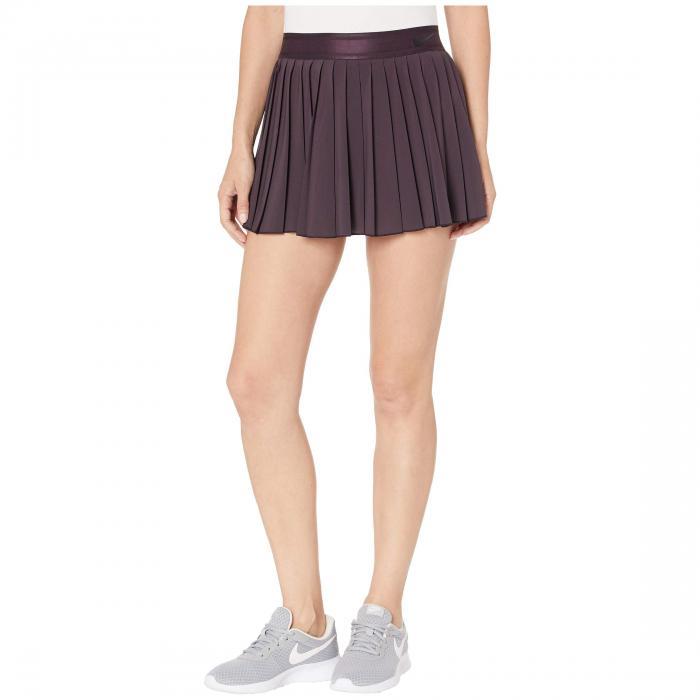 ナイキ NIKE カウント ビクトリー レディースファッション ボトムス スカート レディース 【 Court Victory Skirt 】 Burgundy Ash/black