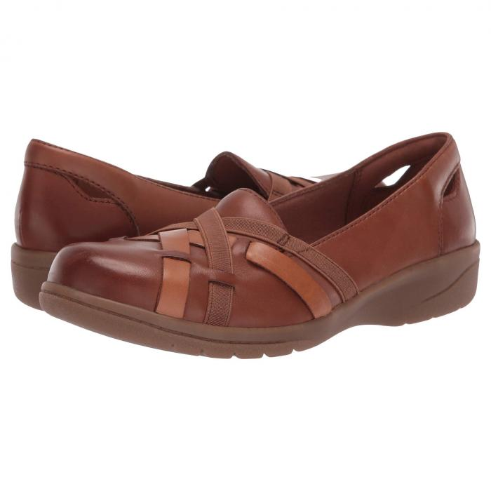 クラークス CLARKS レディース 【 Cheyn Creek 】 Mahogany Leather
