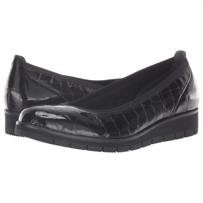 GABOR 95.340 レディース 【 95.340 】 Black Croc Patent