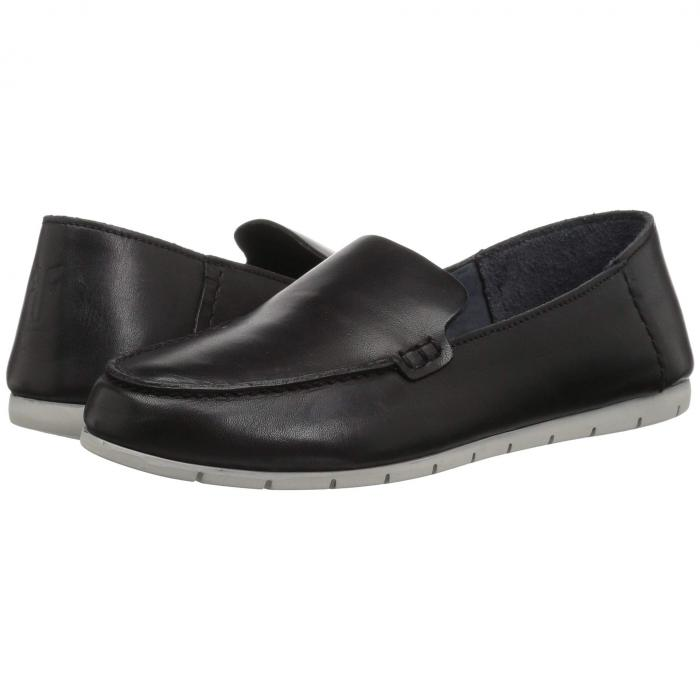 FRYE レディース 【 Sedona Venetian Moc 】 Black Dip-dyed Leather