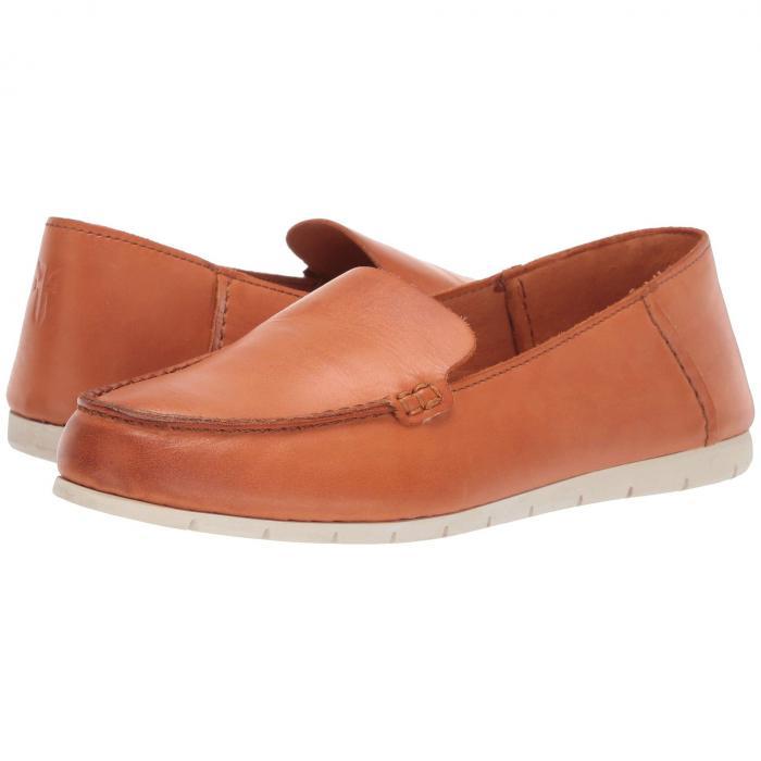 FRYE レディース 【 Sedona Venetian Moc 】 Sunset Orange Dip-dyed Leather