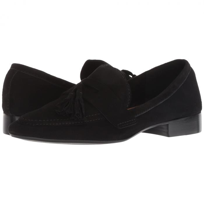 FRENCH SOLE レディース 【 Chime Loafer 】 Black Suede