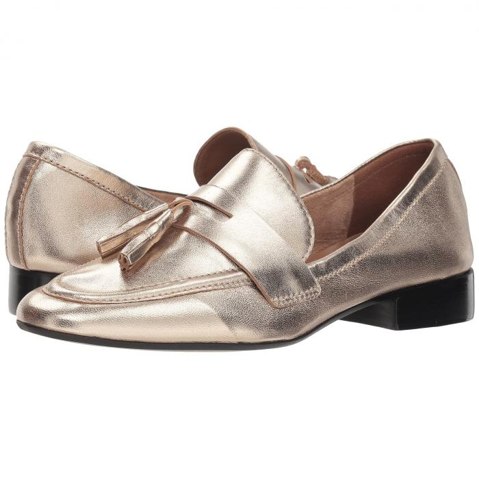FRENCH SOLE レディース 【 Chime Loafer 】 Platino Metallic