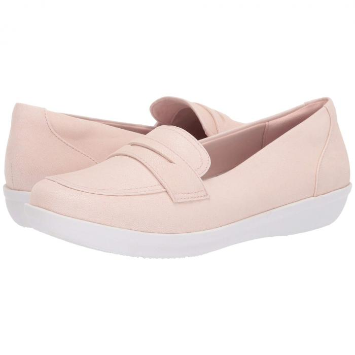 クラークス CLARKS レディース 【 Ayla Form 】 Light Pink Synthetic Nubuck