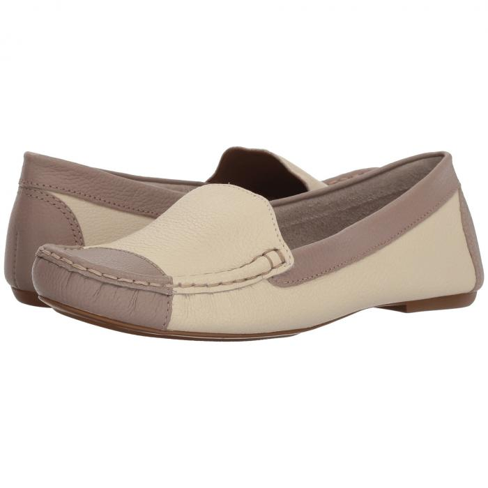 FRENCH SOLE レディース 【 Allure 】 Bone/taupe Pebble Leather