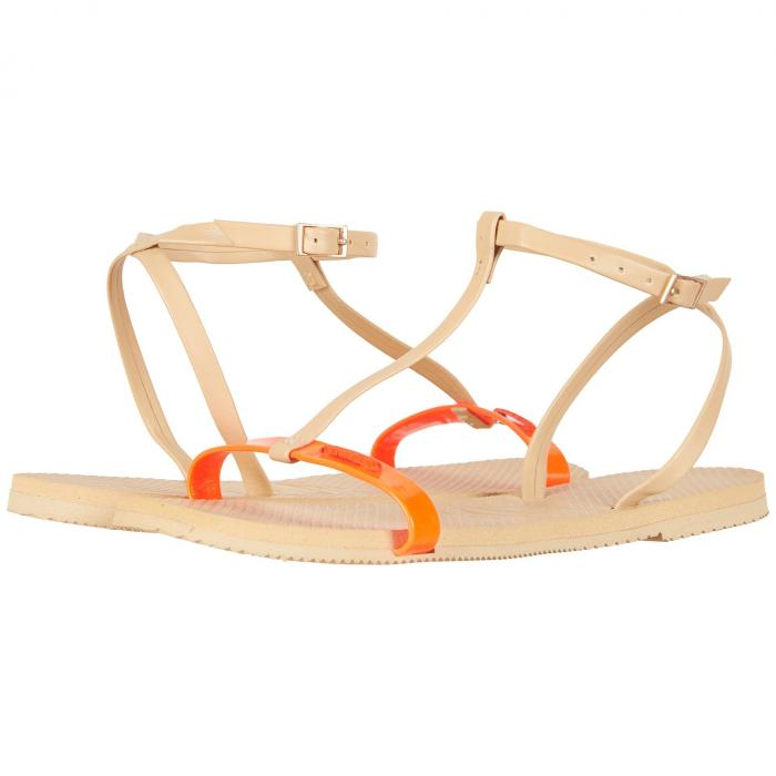 HAVAIANAS レディース 【 You Belize Flip Flops 】 Cyber Orange