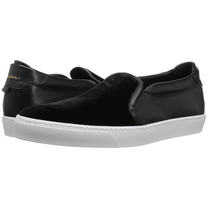GOLD & GRAVY スニーカー メンズ 【 Ted Velvet Sneaker 】 Black Velvet