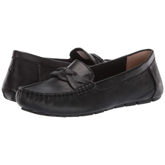 SPERRY レザー レディース 【 Bridge Driver Leather 】 Black