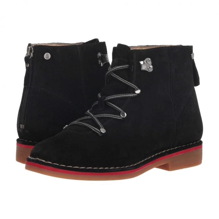 HUSH PUPPIES 【 CATELYN HIKER BOOT BLACK SUEDE 】 送料無料