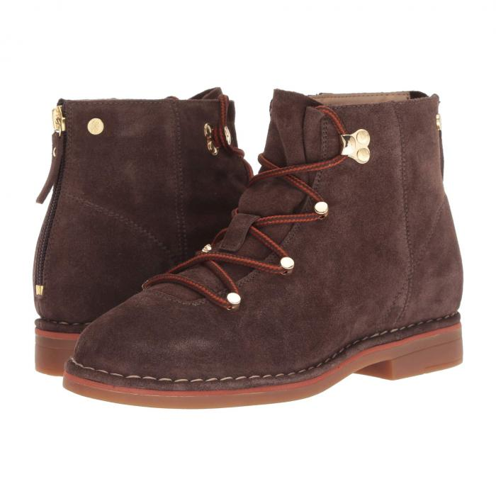 HUSH PUPPIES ブーツ レディース 【 Catelyn Hiker Boot 】 Dark Brown Suede