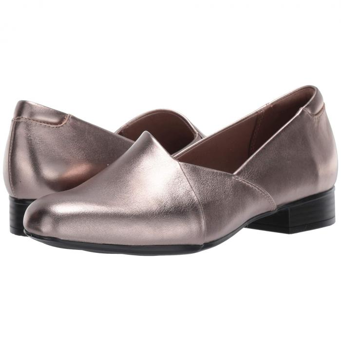 クラークス CLARKS レディース 【 Juliet Palm 】 Pewter Leather