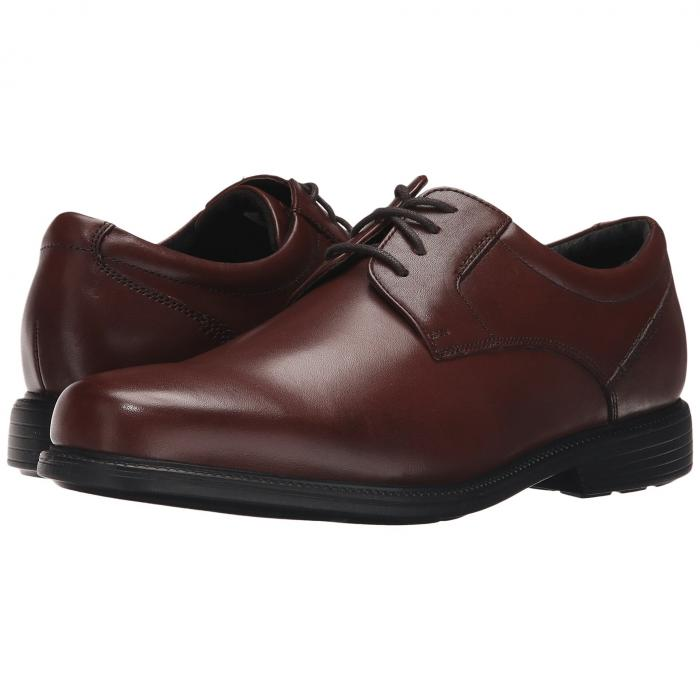 ROCKPORT オックスフォード メンズ ビジネススニーカー 【 Charles Road Plain Toe Oxford 】 Tan Ii Leather