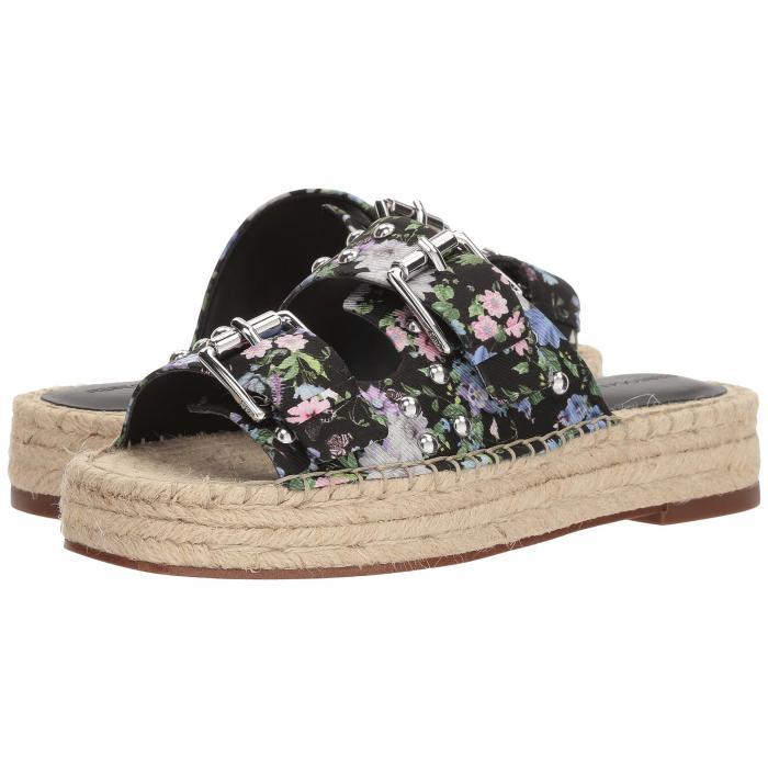 REBECCA MINKOFF レディース 【 Jodi 】 Black Garden Floral Silk