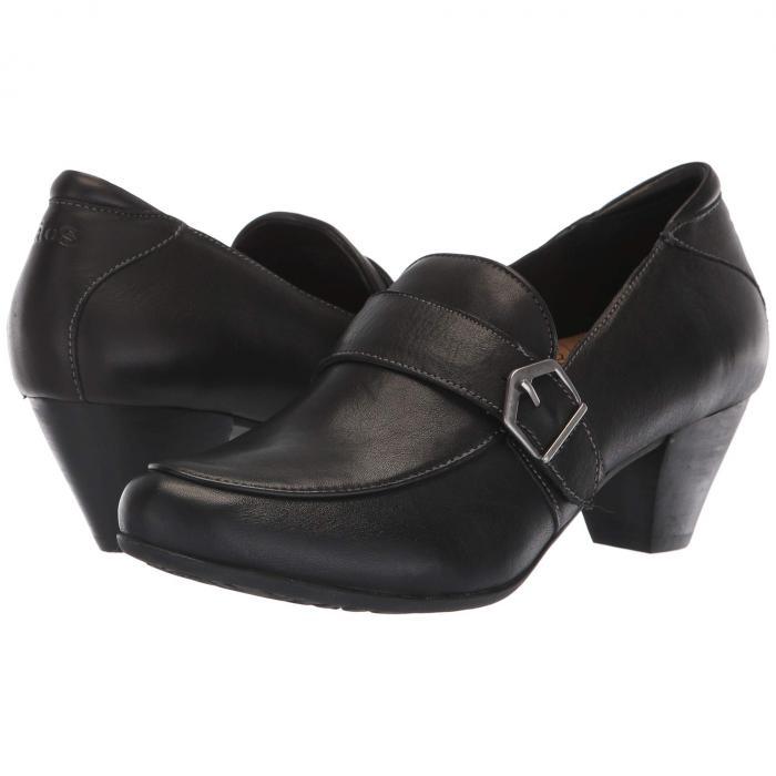 TAOS FOOTWEAR レディース 【 Troubador 】 Black Leather