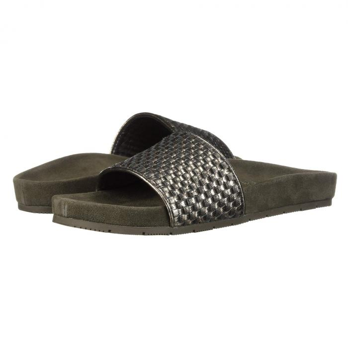 【スーパーセール商品】J SLIDES 【 NAOMIE PEWTER METALLIC LEATHER 】 送料無料