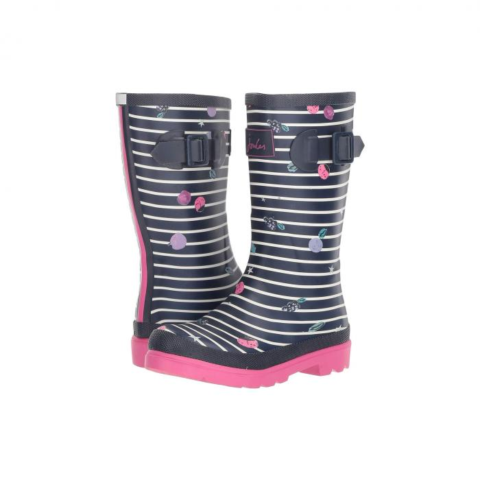 JOULES KIDS ブーツ ストライプ 【 STRIPE JOULES KIDS PRINTED WELLY RAIN BOOT TODDLER LITTLE KID BIG BERRY 】 キッズ ベビー マタニティ ベビー服 ファッション