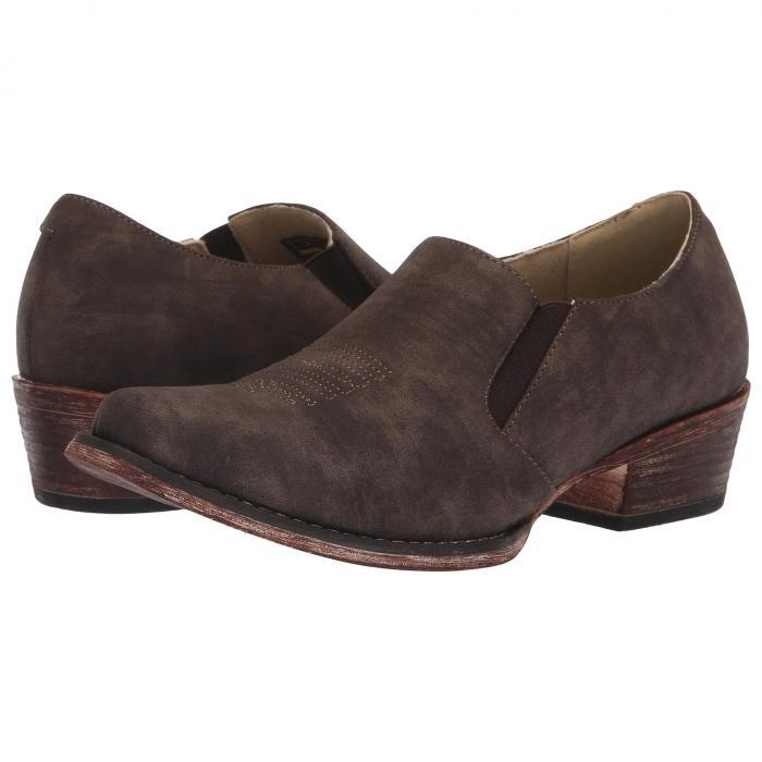 ROPER クラシック レディース 【 Birkita Classic 】 Vintage Brown Faux Leather
