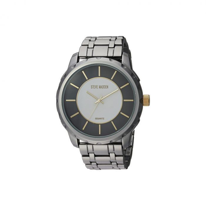 STEVE MADDEN スティーブマッデン 銀色 シルバー 【 SILVER STEVE MADDEN SMW154 】 腕時計 メンズ腕時計