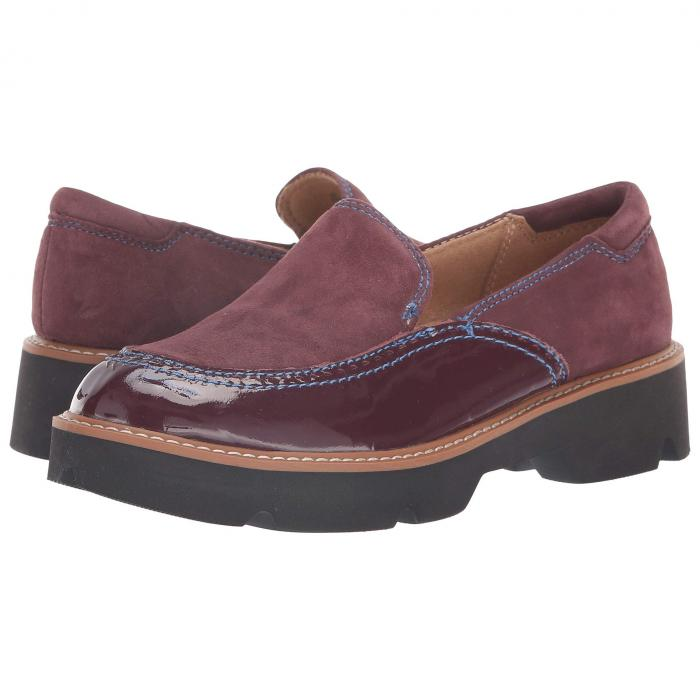 NATURALIZER スエード スウェード パテント レザー 【 NATURALIZER LARK HUCKLEBERRY SUEDE PATENT LEATHER 】