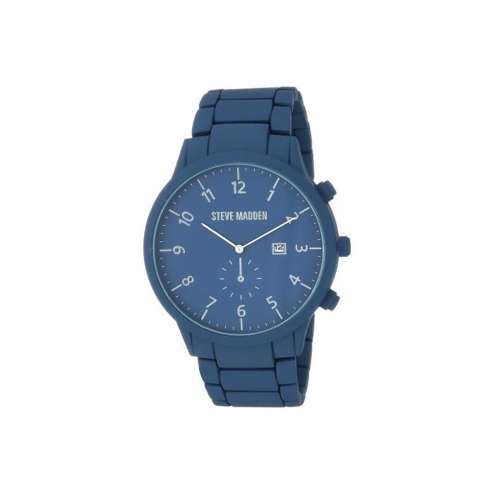 STEVE MADDEN スティーブマッデン ウォッチ 時計 青 ブルー 【 WATCH BLUE STEVE MADDEN LINK SMW244 】 腕時計 メンズ腕時計
