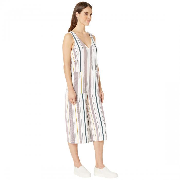 TAVIK 白 ホワイト ストライプWHITE STRIPE TAVIK ALE JUMPSUIT BERRYレディースファッションCQWoxBrdeE