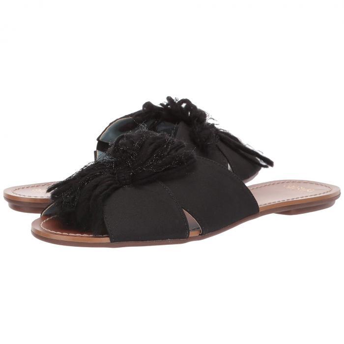 FRANCES VALENTINE サンダル レディース 【 Trez Slide Sandal 】 Black/black Yarn
