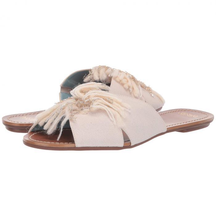 FRANCES VALENTINE サンダル レディース 【 Trez Slide Sandal 】 Oyster/oyster Yarn