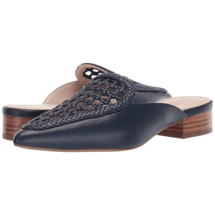 コールハーン COLE HAAN レディース 【 Payson Weave Mule 】 Marine Blue Weave Leather