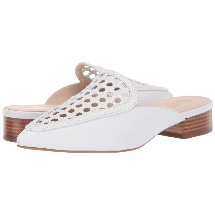 コールハーン COLE HAAN レディース 【 Payson Weave Mule 】 Optic White Weave Leather