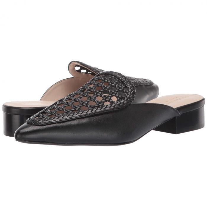 コールハーン COLE HAAN レディース 【 Payson Weave Mule 】 Black Weave Leather