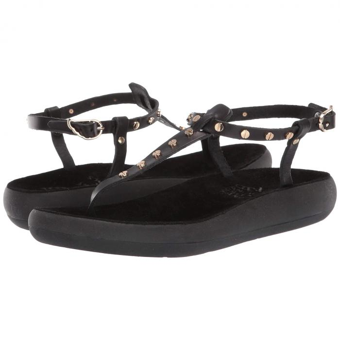 【スーパーセール商品 12/4-12/11】ANCIENT GREEK SANDALS 【 LITO NAILS COMFORT BLACK VACHETTA RUBBER 】 送料無料