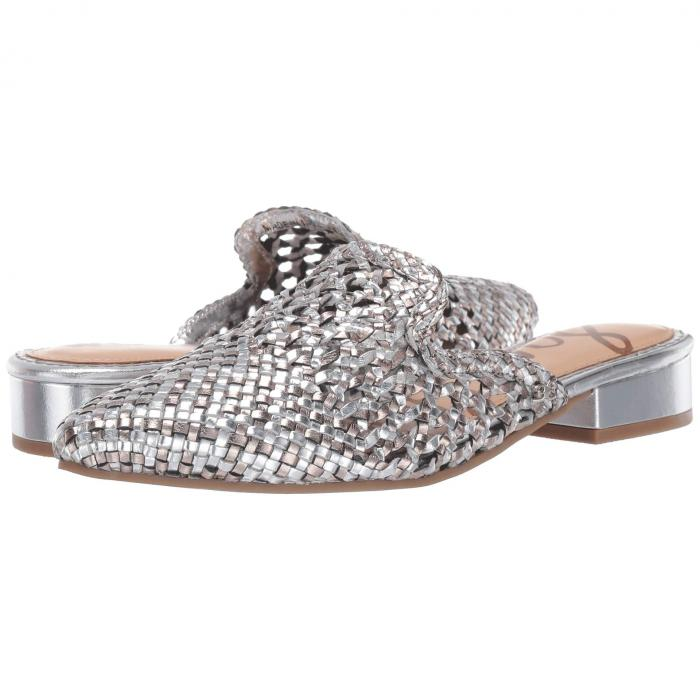 SAM EDELMAN レディース 【 Clara 】 Silver/pewter Woven Leather