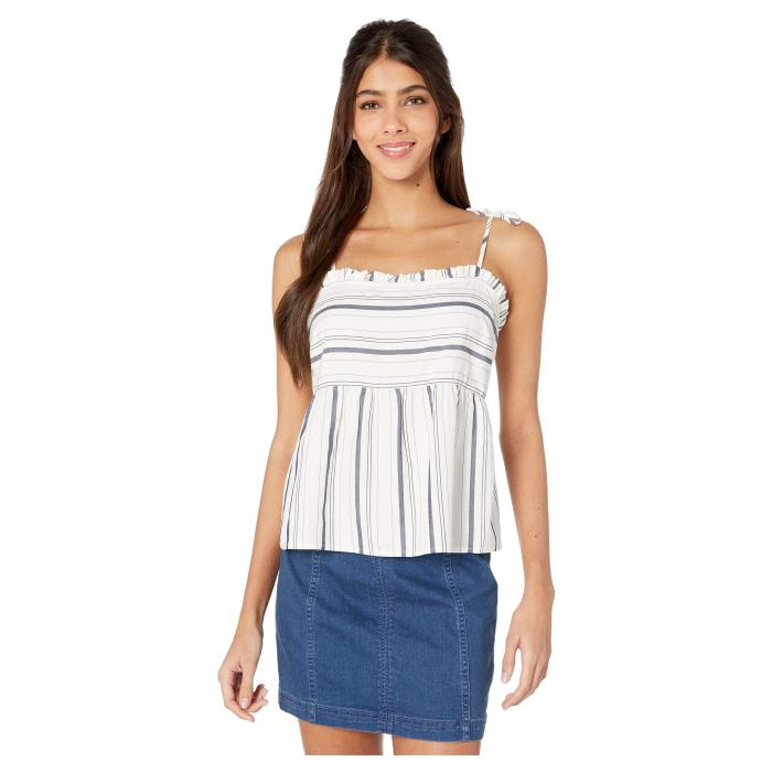 CUPCAKES AND CASHMERE ストライプ 【 STRIPE CUPCAKES AND CASHMERE BIRDY CAMI IVORY 】 レディースファッション トップス