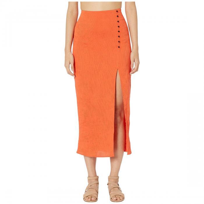 FLAGPOLE レディースファッション ボトムス スカート レディース 【 Noah Skirt 】 Papaya