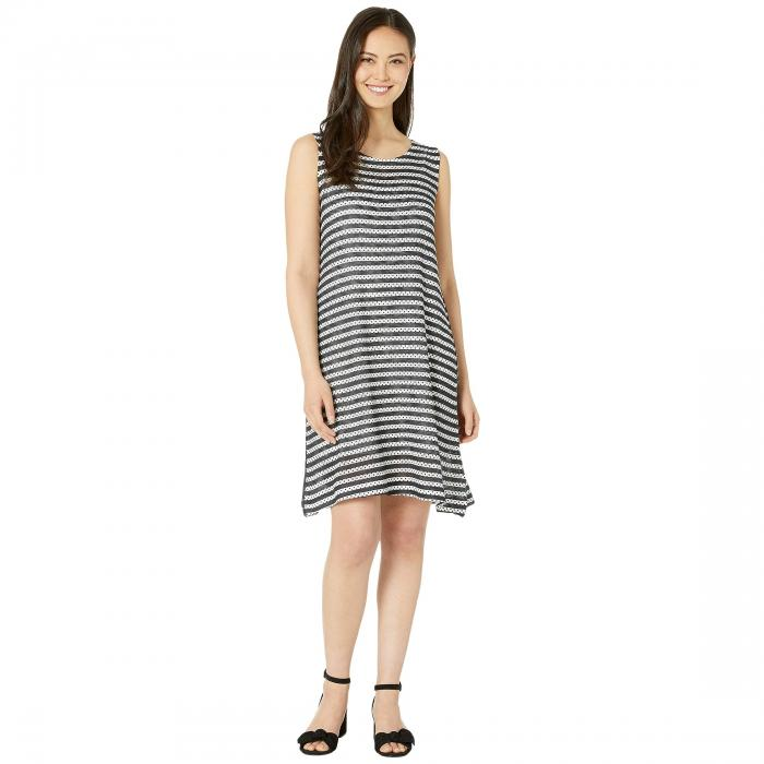 NALLY & MILLIE ストライプ ドレス & 【 STRIPE NALLY MILLIE POLKA DOT PRINT DRESS WITH SLIP LAYER MULTI 】 レディースファッション ドレス