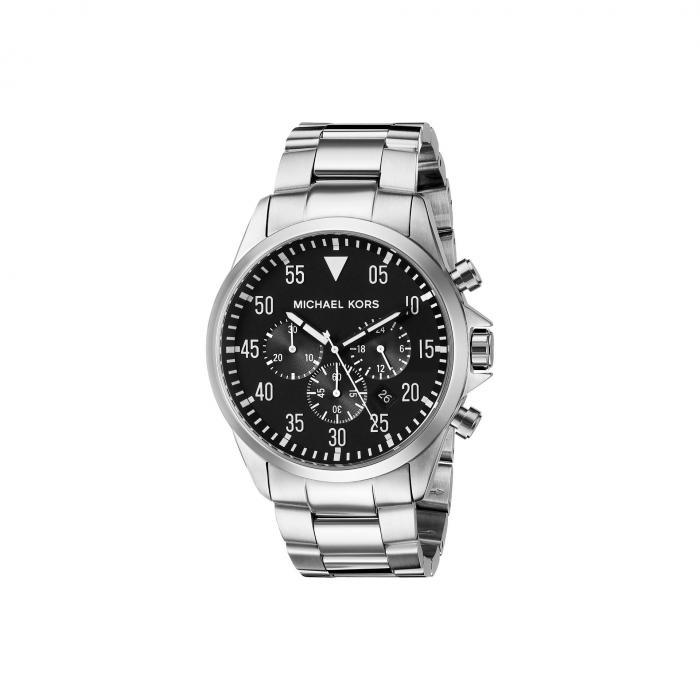 MICHAEL KORS 銀色 シルバー 【 SILVER MICHAEL KORS MK8413 GAGE 】 腕時計 メンズ腕時計