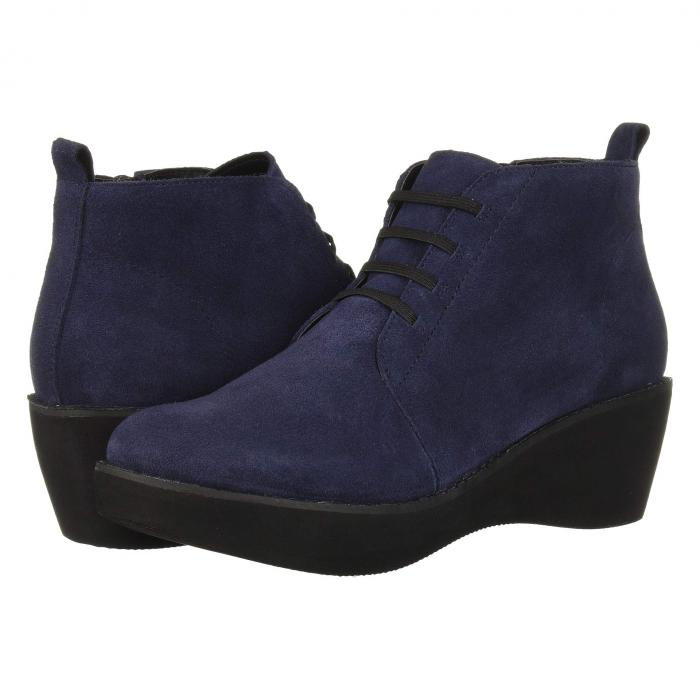 KENNETH COLE REACTION レディース 【 Prime Lace-up Bootie 】 Navy