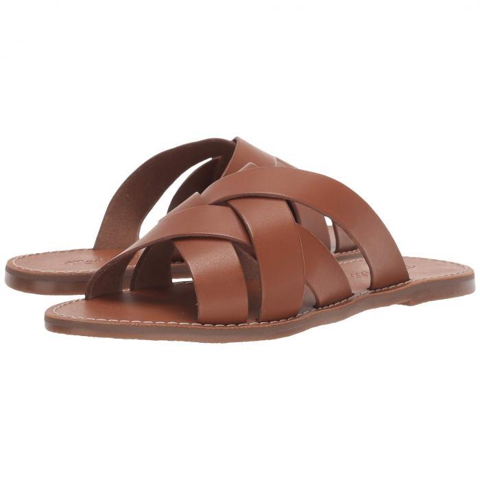 MADEWELL ウーブン サンダル レディース 【 The Boardwalk Woven Slide Sandal 】 English Saddle